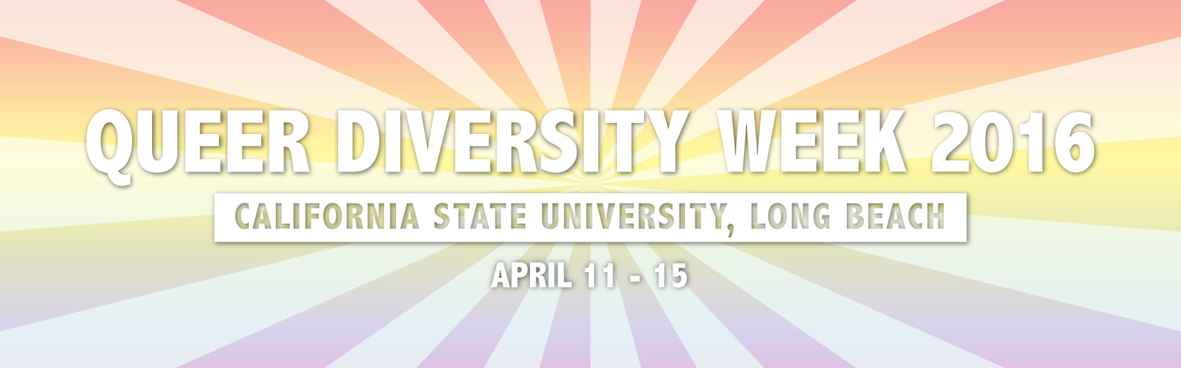 Queer Diversity Week: April 11 to 15