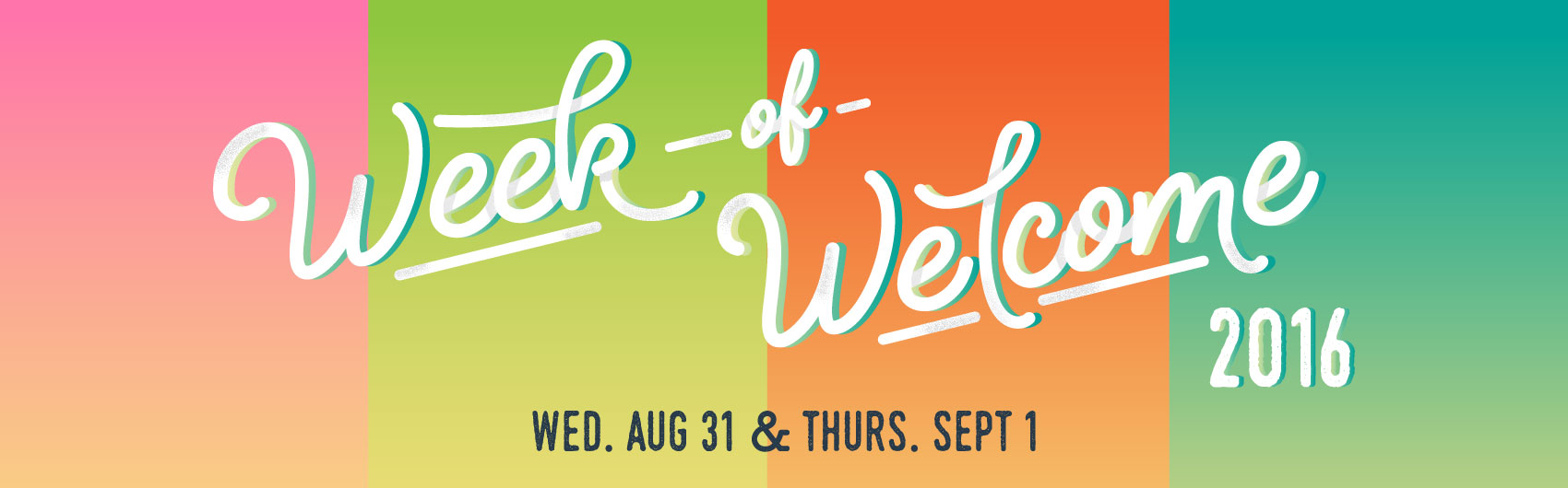 Week of Welcome banner