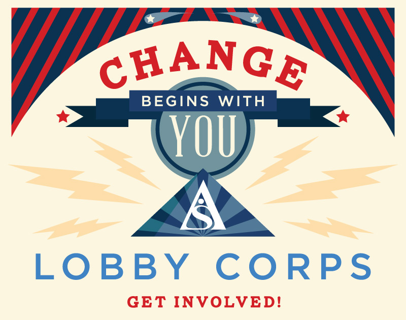 Change begins with you: Lobby Corps - Get Involved!