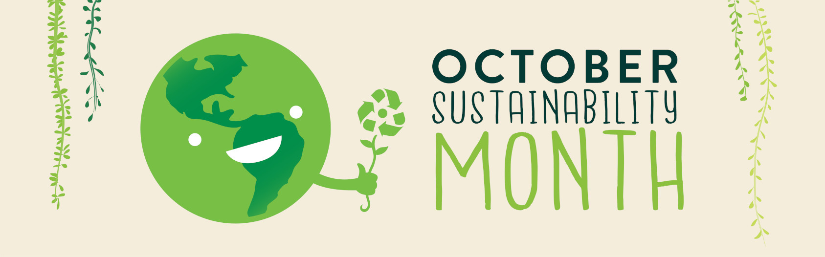 Campus Sustainability Month Banner