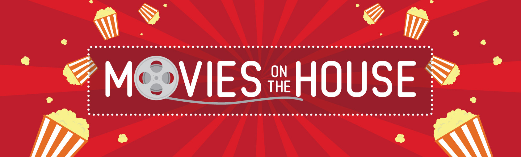 Movies on the House Spring 2019 Banner