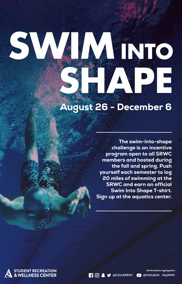 A swim into shape challenge for all SRWC members