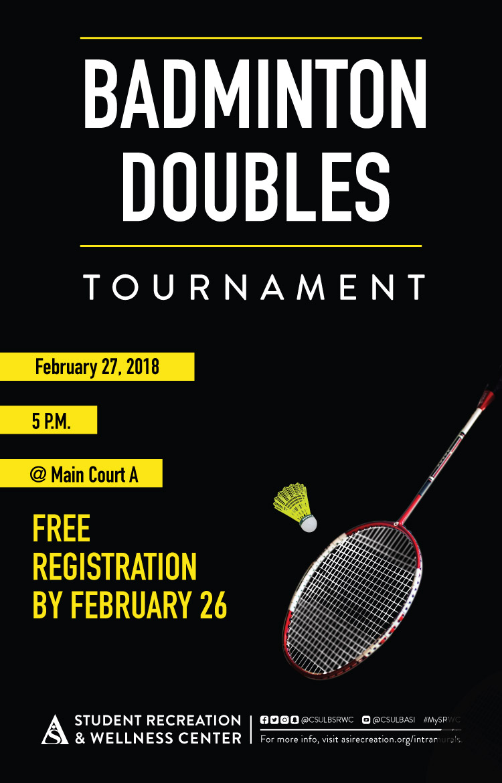 Badminton Doubles Tournament