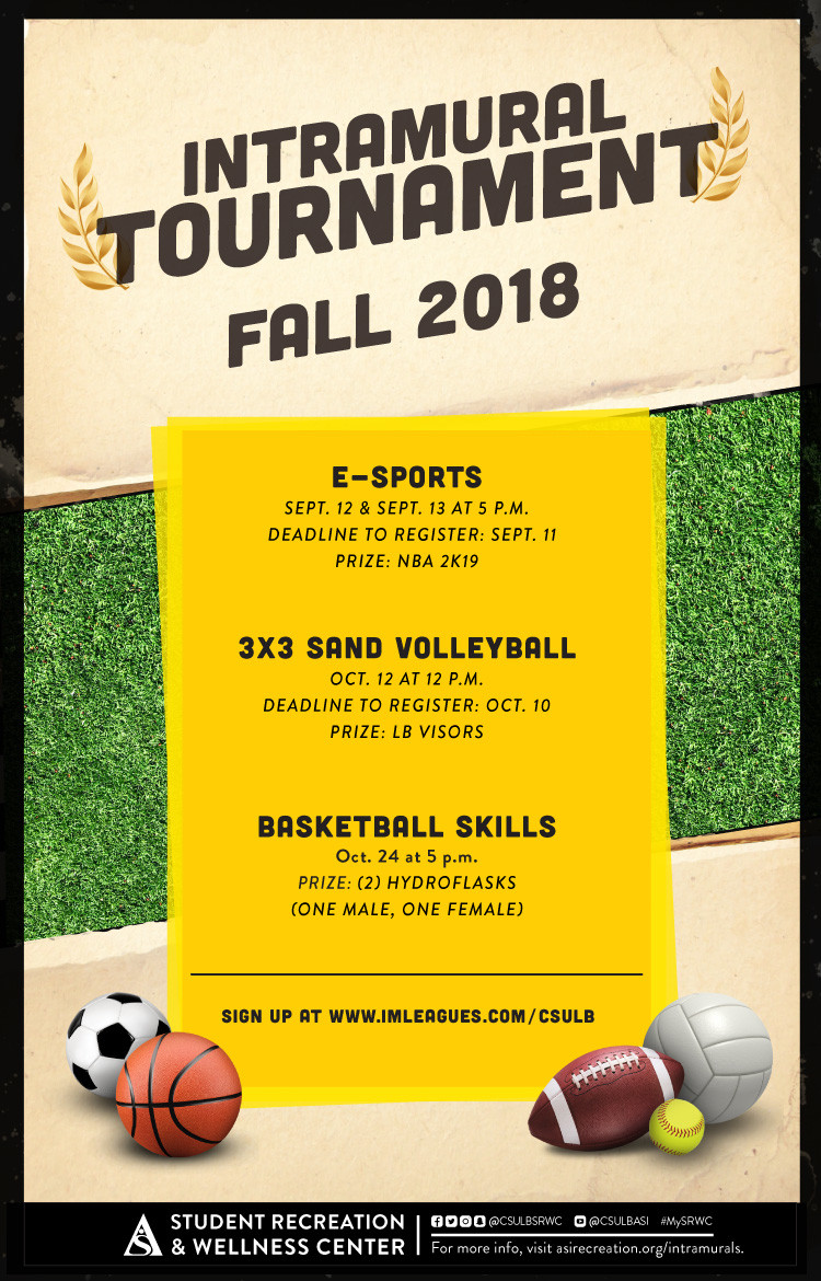 Intramural Tournament Fall 2018