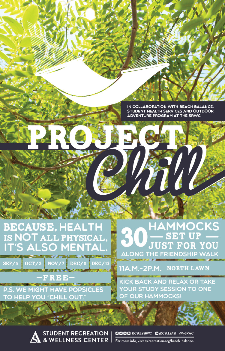 Project Chill fall 18 poster