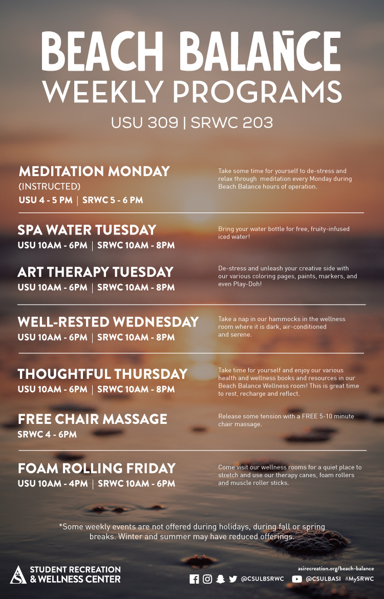 srwc instructional classes poster