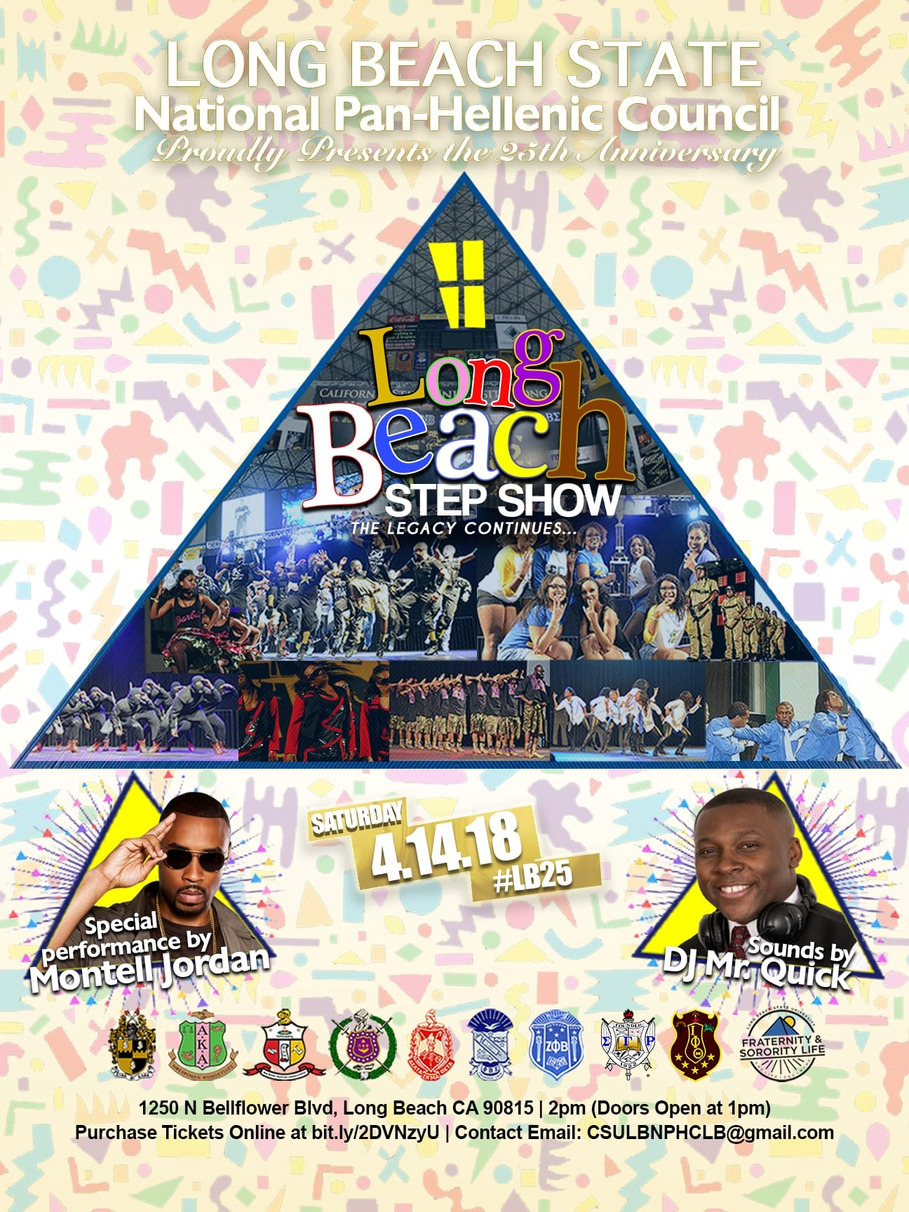 Long Beach Step Show poster