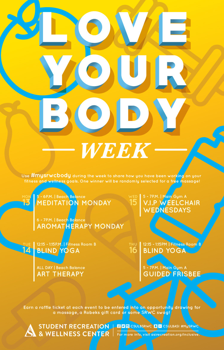 Love Your Body Week poster