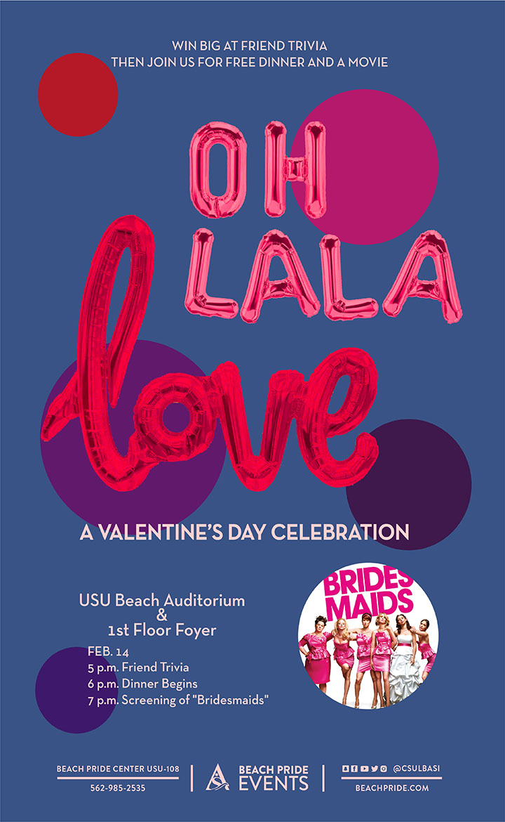 Oh Lala Love Valentine's Day poster