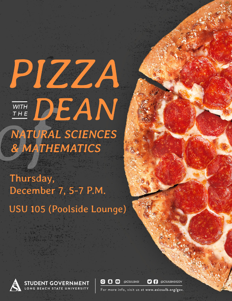 Pizza with the Dean