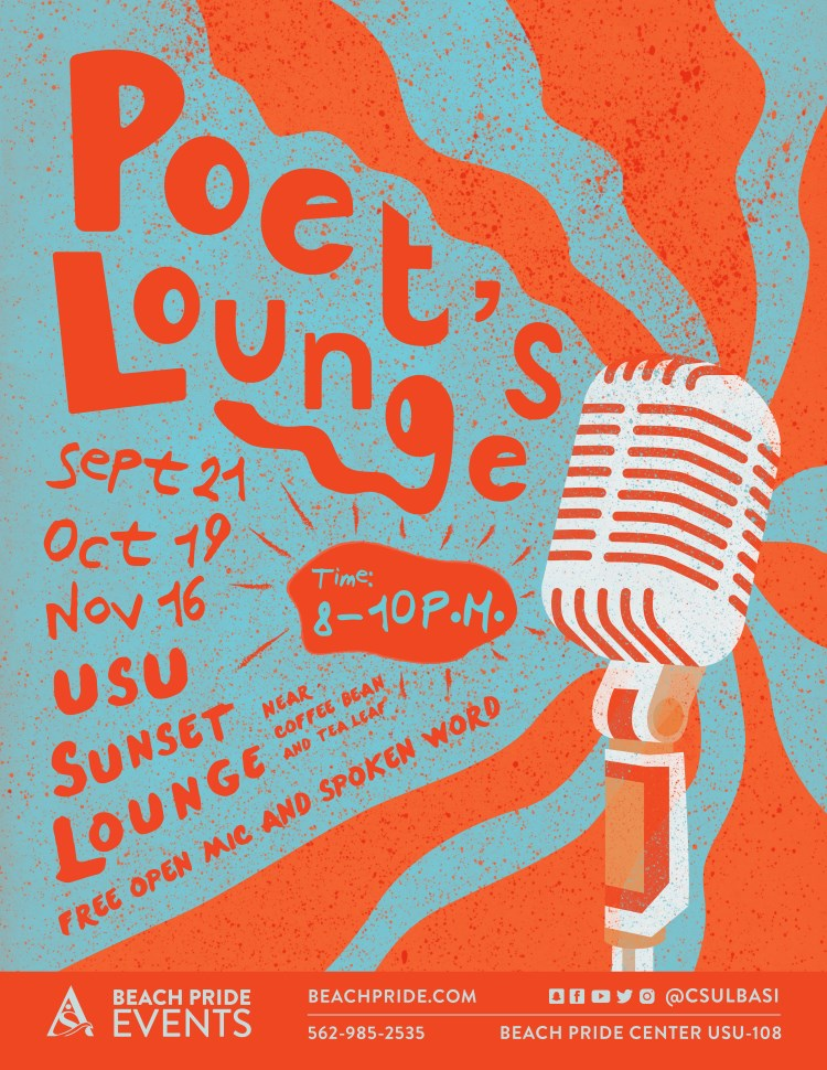 Poet's Lounge Fall 2017 poster