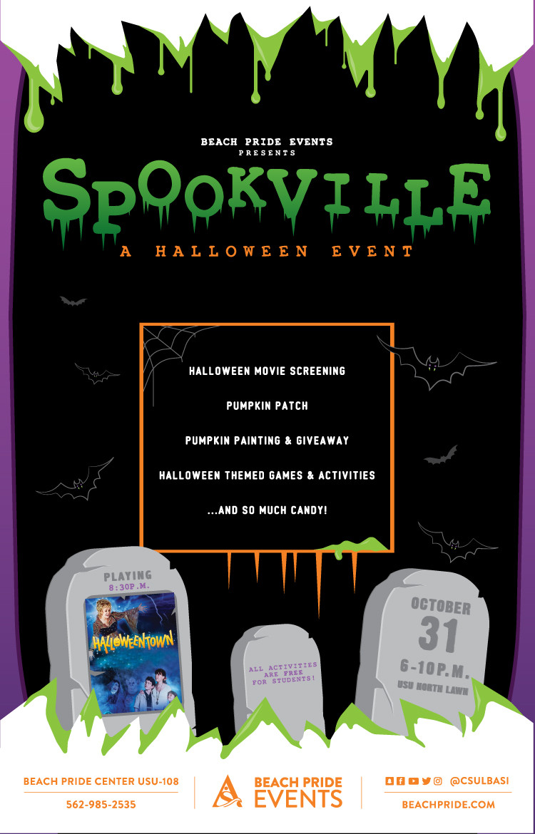 Spookville Fall 2017 poster