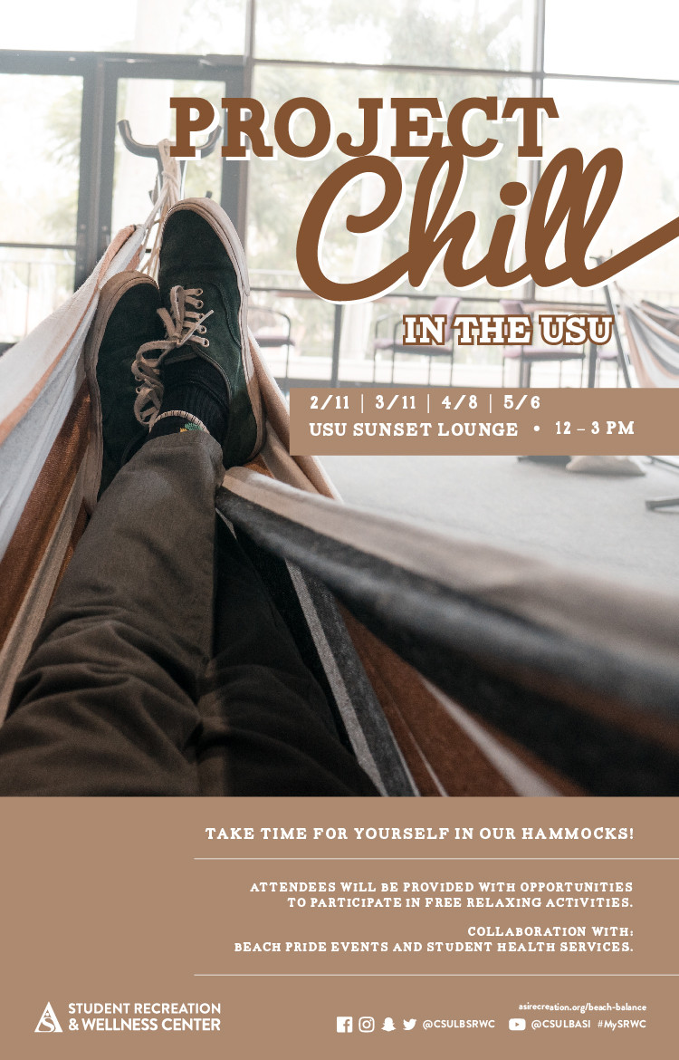 project chill at usu poster