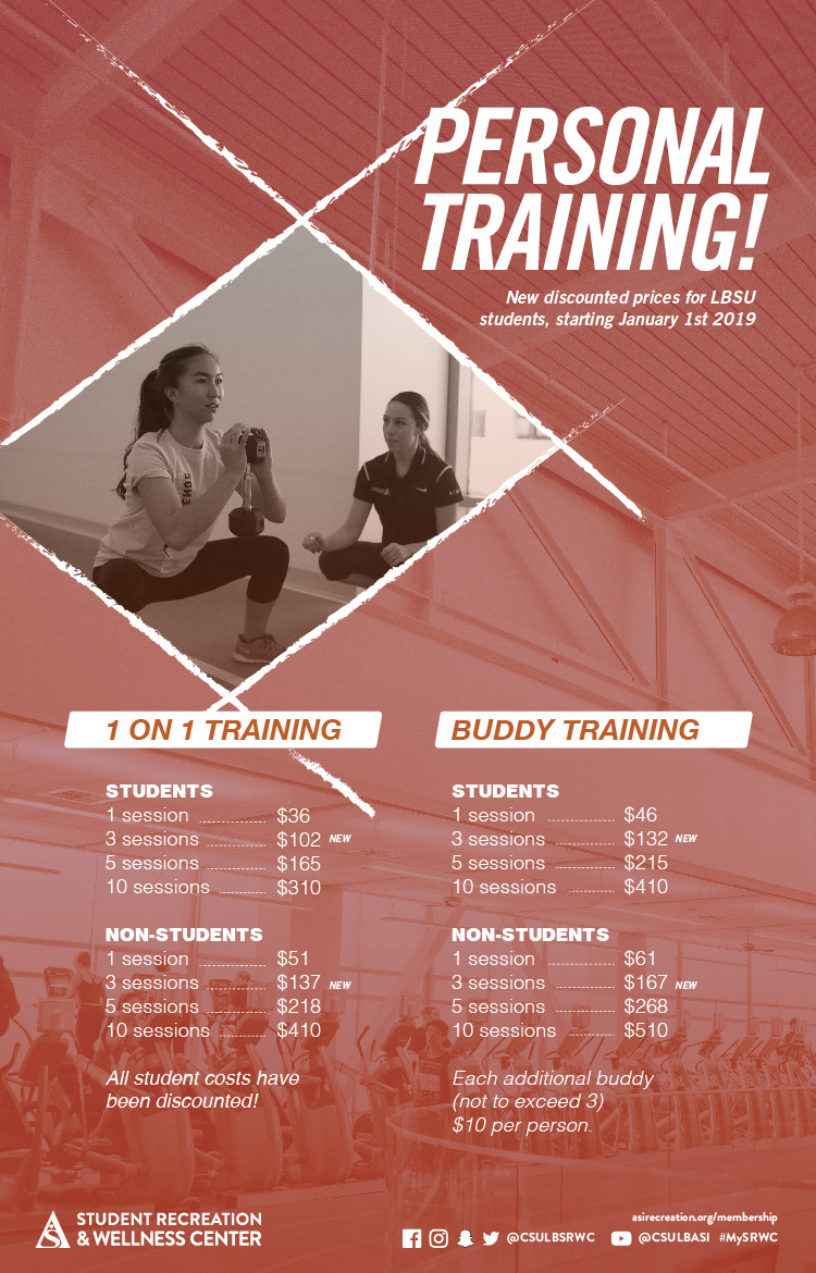 srwc personal trainer poster
