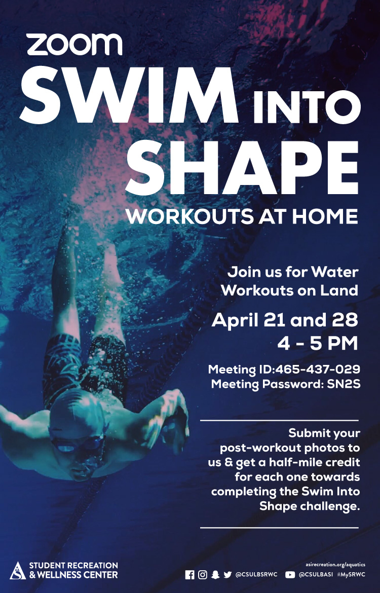 Swim into shape poster