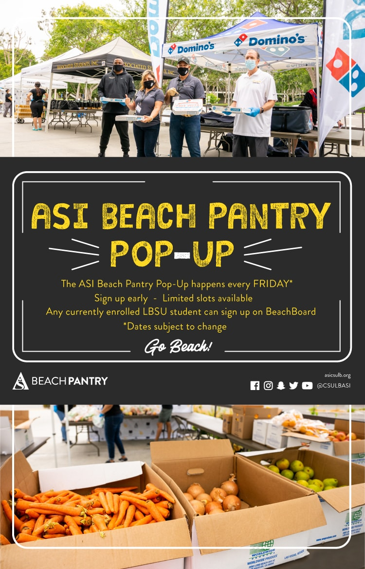 Beach Pantry Pop Up Poster