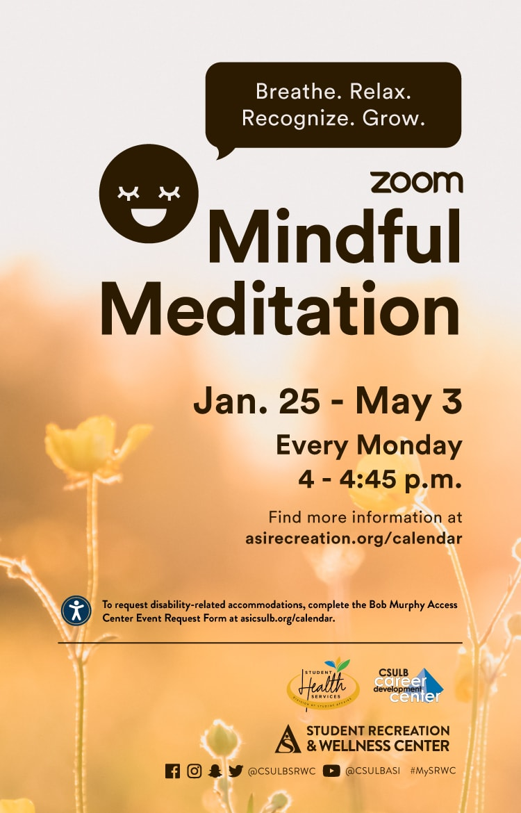 Mindful Meditations Poster