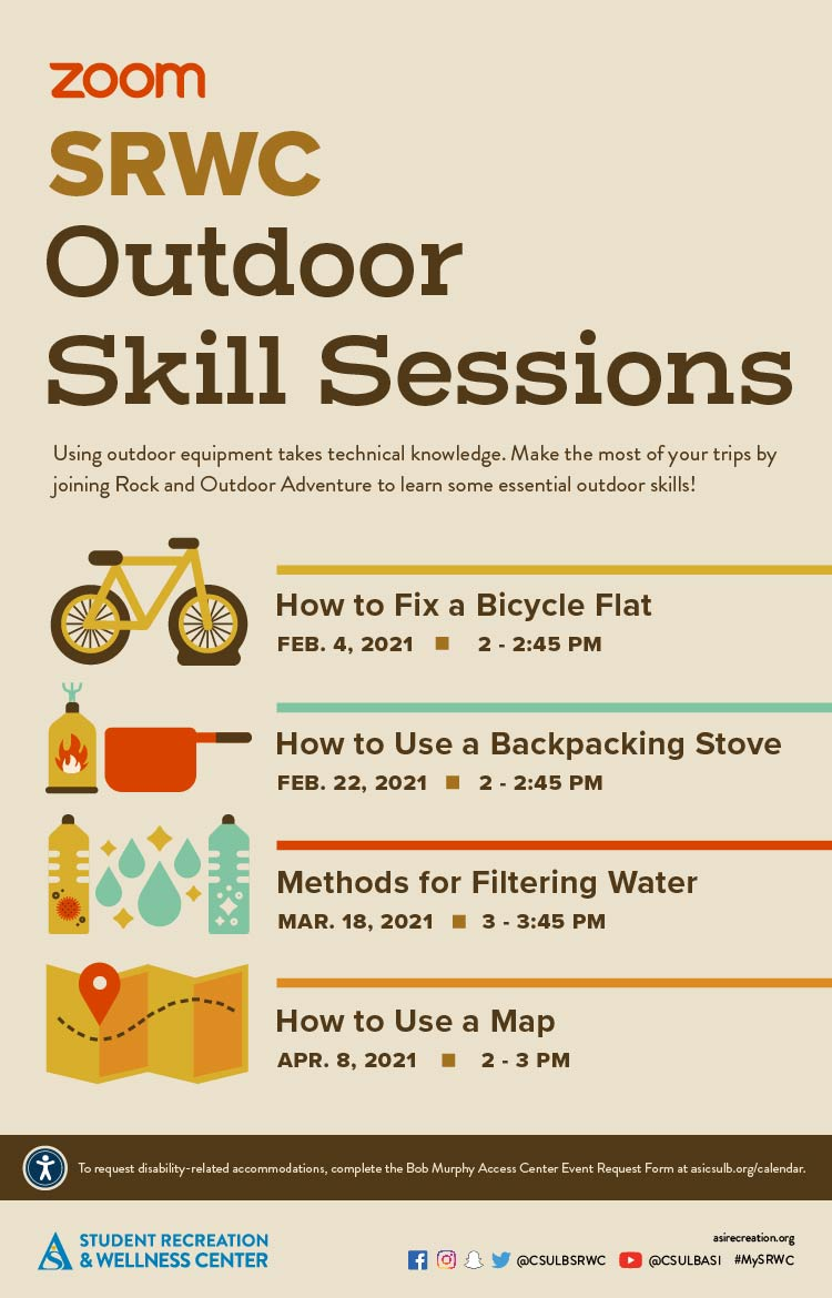 Outdoor Skill Sessions Poster