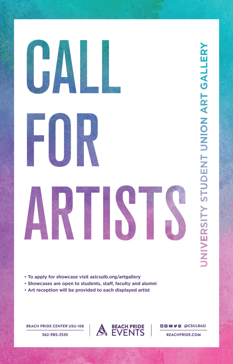 Call for Artists poster
