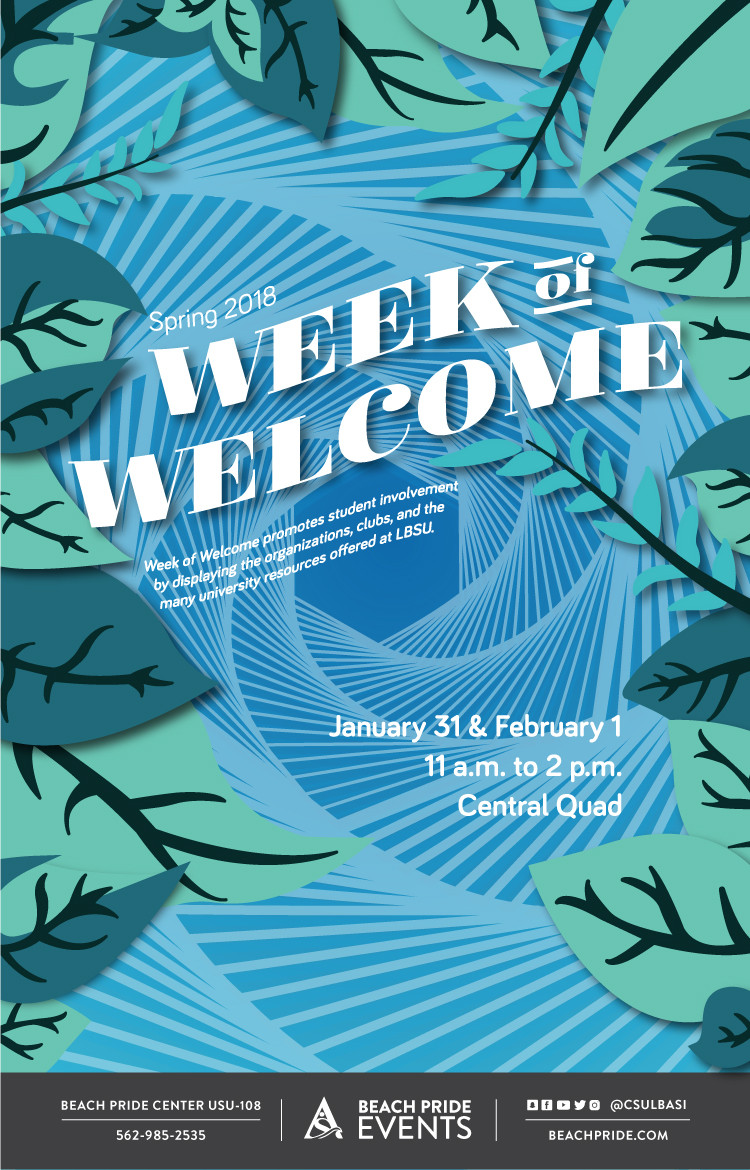 Week of Welcome Spring 2018 poster